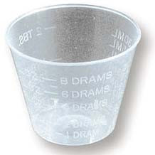 MIXING CUPS,1/4-1 OZ,24 PCS