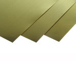 K&S 258 SHEET METAL (3IN X 6IN SHEETS) .003 BRASS (1 SHEET PER BAG)