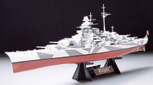 German Tirpitz Battleship Kit 1/350