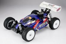 HOBAO Hyper 7 TQ Sport RTR 1/8 Off Road Buggy ( BLACK VERSION ) w/2.4Ghz Radio & HYPER 21 Pull Start