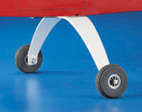 DUBRO 789 SUPER STRONG LANDING GEAR (1 PC PER PACK)