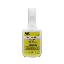 SLO- ZAP CA- (Yellow Label) Thick Viscosity 1 oz. Slo-Zap CA-
