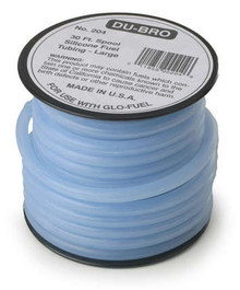 5/32 Large Super Blue Silicone Tubing ( 4 FOOT MIN)