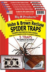 BigH ProductsTM Hobo & Brown Recluse Spider Trap - 5 Package Special