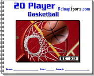 Belnap Sports Basketball Scorebook-26 games