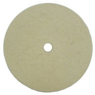 4 Inch Felt Pad Hook and Loop Back - FREE SHIPPING