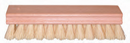 Oblong Scrub Brush White Tampico