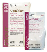 TEC AccuColor® Premium Unsanded Grout - 10 lb - FREE SHIPPING