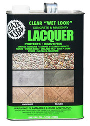 Clear Wet Look Lacquer **HAZMAT ITEM** SEE BELOW