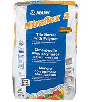 Ultraflex 2 Professional Tile Mortar W/Polymer White 50 lb