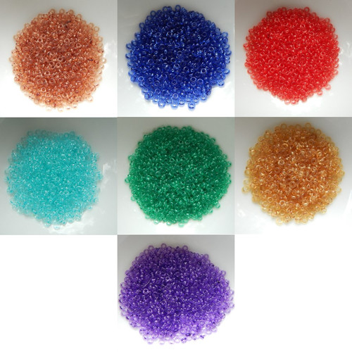 Demi 8/o Beads TOHO HYBRID ColorTrends Transparents 10g - Choose Color