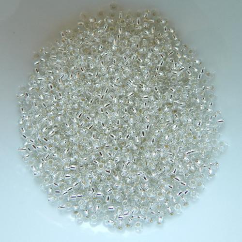 11/o TOHO Seed Beads Silver Lined 25g