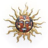 Resplendent Metal Sun Large