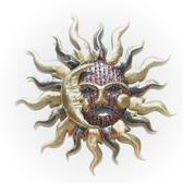 Celestial Kiss Metal Sun Large