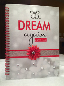 Break away from the busy-ness of life and dream again with the new Beautiful Butterfly Dream Again Journal.