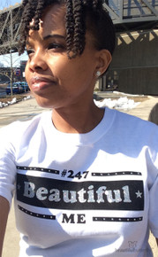 Never lose sight of who you truly are with the #247BeautifulMe Top.
