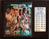 "NBA 12""x15"" Boston Celtics 17-Time NBA Champions Plaque"