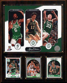 "NBA 12""x15"" Bird-Havlicek-Russell Boston Celtics Legacy Collection Plaque"