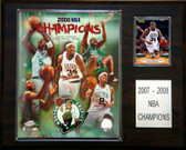 "NBA 12""x15"" Boston Celtics 2008 NBA Champions Plaque"