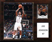 "NBA 12""x15"" Joe Johnson Brooklyn Nets Player Plaque"