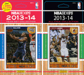 NBA Charlotte Bobcats Licensed 2013-14 Hoops Team Set Plus 2013-24 Hoops All-Star Set