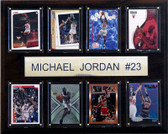 "NBA 12""x15"" Michael Jordan Chicago Bulls 8 Card Plaque"