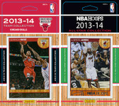 NBA Chicago Bulls Licensed 2013-14 Hoops Team Set Plus 2013-24 Hoops All-Star Set