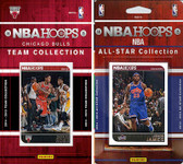 NBA Chicago Bulls Licensed 2014-15 Hoops Team Set Plus 2014-15 Hoops All-Star Set