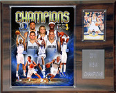 "NBA 12""x15"" Dallas Mavericks 2011-2012 NBA Champions Plaque"
