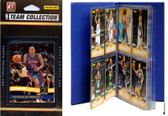 NBA Detroit Pistons Licensed 2010-11 Donruss Team Set Plus Storage Album