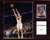 "NBA 12""x15"" Klay Thompson Golden State Warriors Player Plaque"