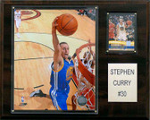 "NBA 12""x15"" Stephen Curry Golden State Warriors Player Plaque"