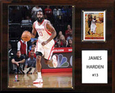 "NBA 12""x15"" James Harden Houston Rockets Player Plaque"
