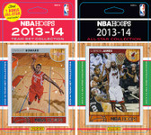 NBA Houston Rockets Licensed 2013-14 Hoops Team Set Plus 2013-24 Hoops All-Star Set