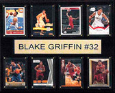 "NBA 12""x15"" Blake Griffin Los Angeles Clippers 8-Card Plaque"