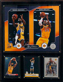 "NBA 12""x15"" Magic Johnson-Kobe Bryant Los Angeles Lakers Legacy Collection Plaque"