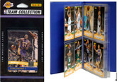 NBA Los Angeles Lakers Licensed 2010-11 Donruss Team Set Plus Storage Album