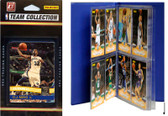 NBA Memphis Grizzlies Licensed 2010-11 Donruss Team Set Plus Storage Album