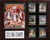 "NBA 16""x20"" Miami Heat 2013 NBA Champions Plaque"