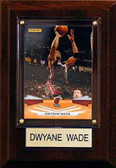 "NBA 4""x6"" Dwayne Wade Miami Heat Player Plaque"