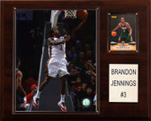 "NBA 12""x15"" Brandon Jennings Milwaukee Bucks Player Plaque"