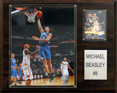 "NBA 12""x15"" Michael Beasley Minnesota Timberwolves Player Plaque"