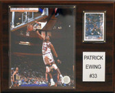 "NBA 12""x15"" Patrick Ewing New York Knicks Player Plaque"