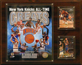 "NBA 12""x15"" New York Knicks All -Time Great Photo Plaque"