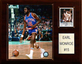 "NBA 12""x15"" Earl Monroe New York Knicks Player Plaque"
