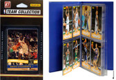 NBA New York Knicks Licensed 2010-11 Donruss Team Set Plus Storage Album