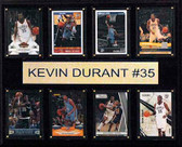 "NBA 12""x15"" Kevin Durant Oklahoma City Thunder 8-Card Plaque"