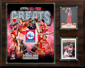"NBA 12""x15"" Philadelphia 76ers All-Time Great Photo Plaque"