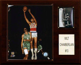 "NBA 12""x15"" Wilt Chamberlain Philadelphia 76ers Player Plaque"