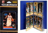 NBA Philadelphia 76ers Licensed 2010-11 Donruss Team Set Plus Storage Album
